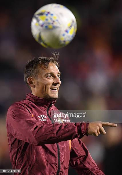 Eric Bautheac of the Roar gestures during the FFA Cup round of 32 match between Brisbane Roar and Melbourne City at Dolphin Stadium on August 7 2018...