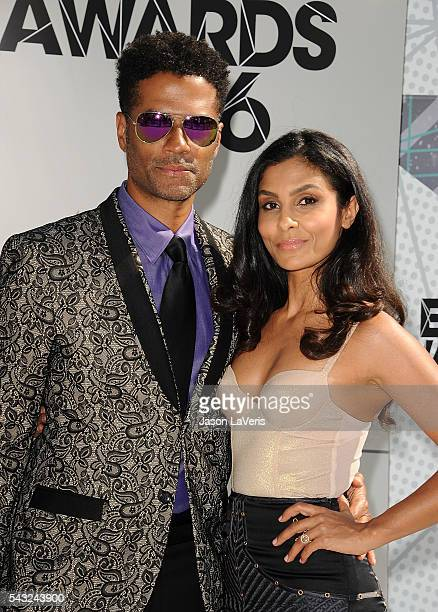 Eric Benet and Manuela Testolini attend the 2016 BET Awards at Microsoft Theater on June 26 2016 in Los Angeles California