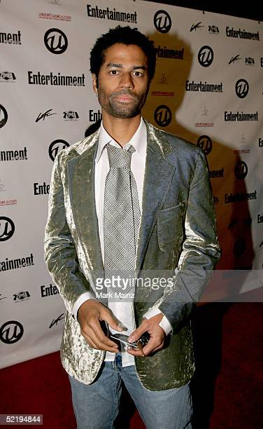 Eric Benet arrives at Usher's Private Grammy Party hosted by Entertainment Weekly at Geisha House on February 13 2005 in Hollywood California