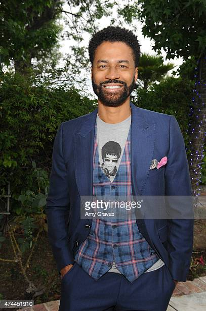 Eric Benet attends the Mission Save Her's Private Party Hosted by Eric Benet and Reggie Benjamin at a Private Residence on May 22 2015 in Calabasas...