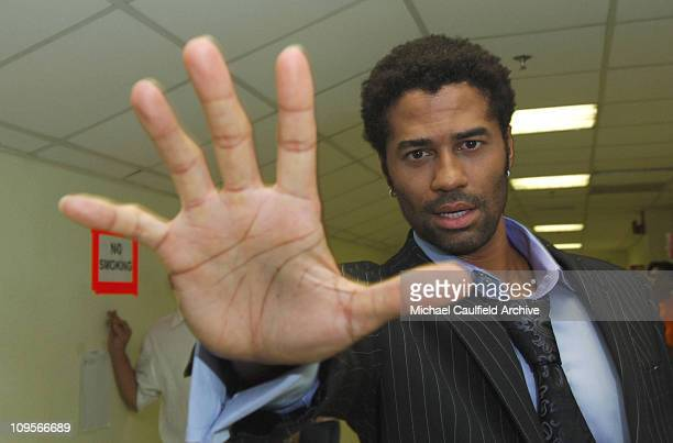 Eric Benet during Force of Nature Concert for Tsunami Aid Backstage at Stadium Putra in Kuala Lumpur Malaysia
