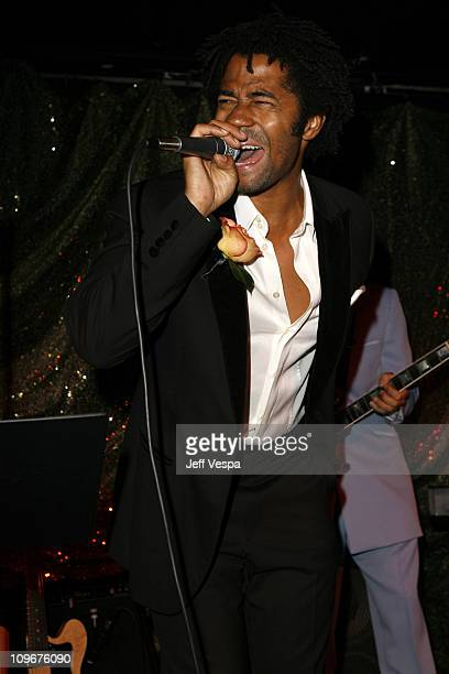 Eric Benet during Sharon Stone and Kelly Stone Host the 1st Annual 'Class of Hope Prom 2007' Charity Benefit Red Carpet and Inside at Sportsmen's...