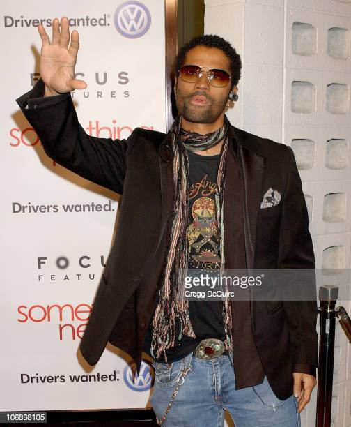 """Eric Benet during """"Something New"""" Los Angeles Premiere - Arrivals at Cinerama Dome in Los Angeles, California, United States."""