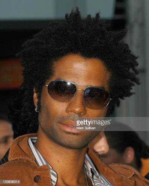 """Eric Benet during """"LA Twister"""" Premiere - Arrivals at Grauman's Chinese Theatre in Hollywood, California, United States."""