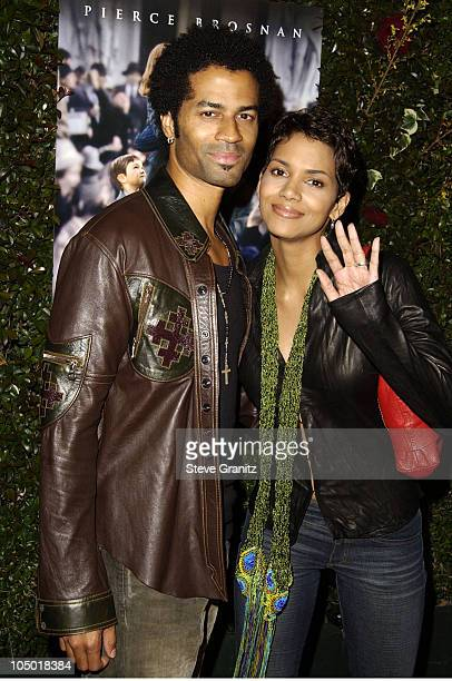 Eric Benet Halle Berry during Evelyn Premiere at The Academy in Los Angeles California United States