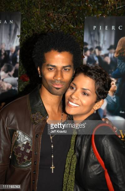 Eric Benet Halle Berry during US Presents Evelyn at Academy of Motion Pictures Arts Sciences in Beverly Hills CA United States