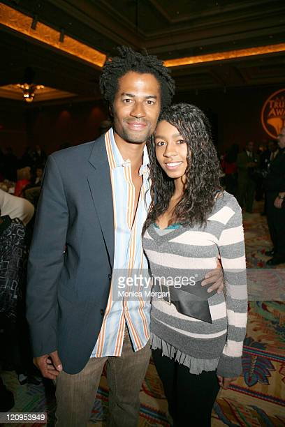Eric Benet with daughter India during 2007 Trumpet Awards Presents Black Cultural Explosion at Bellagio Hotel in Las Vegas Nevada United States
