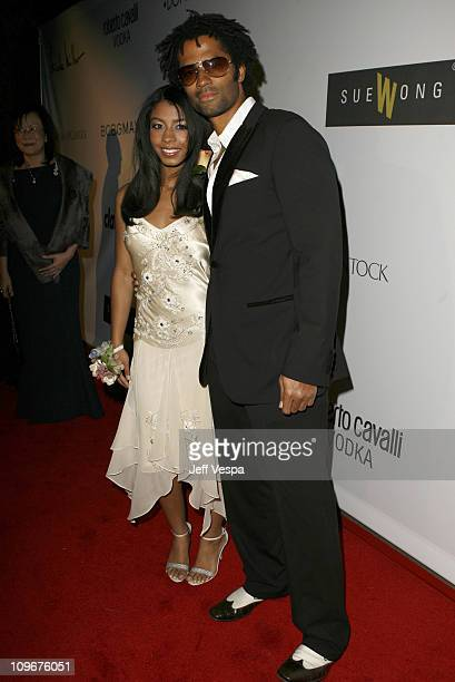 Eric Benet with his daughter India during Sharon Stone and Kelly Stone Host the 1st Annual 'Class of Hope Prom 2007' Charity Benefit Red Carpet and...
