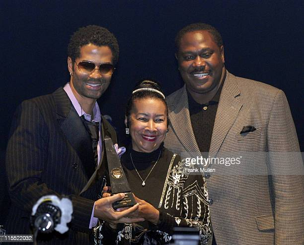 Eric Benet Xernona Clayton and Steve Smith during 2006 Trumpet Awards Black Cultural Explosion at Georgia World Congress Center in Atlanta Georgia...