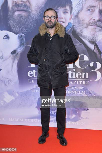 Eric Berger attends the 'Belle et Sebastien 3' Paris premiere at Cinema Gaumont Opera on February 04 2018 in Paris France
