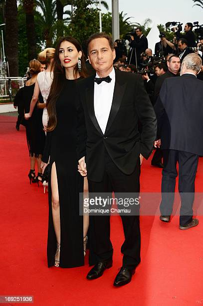 Eric Besson and his wife Yasmine Besson attend the Premiere of 'All Is Lost' during The 66th Annual Cannes Film Festival at the Palais des Festivals...