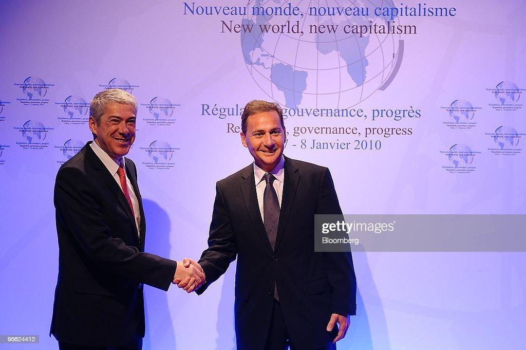 "Leaders Speak At The ""New World, New Capitalism"" Symposium"