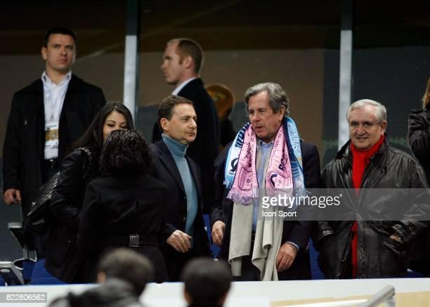 Eric BESSON / Jean Louis DEBRE / Jean Pierre RAFFARIN Marseille / Bordeaux Finale Coupe de la Ligue Stade de France Saint Denis