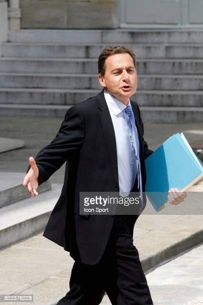 Eric BESSON Ministre de l Immigration Conseil des Ministres Remaniement Ministeriel de Juin 2009 Palais de l Elysees Paris