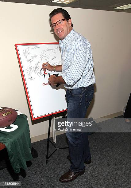 Eric Bolling attends the 2012 Charity Day Hosted By Cantor Fitzgerald And BGC Partners on September 11 2012 in New York United States