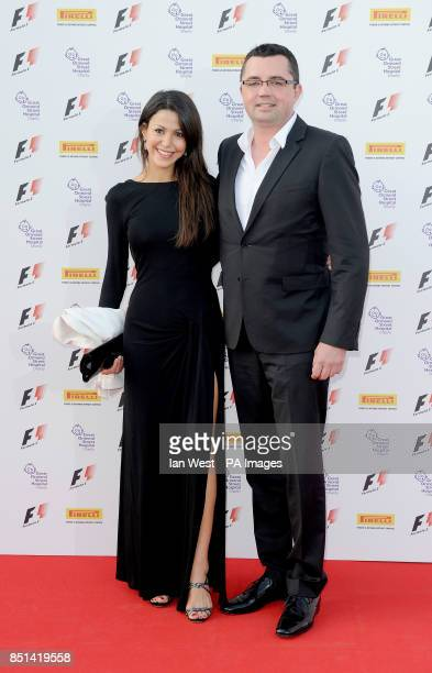 Eric Boullier arriving at the F1 Party in aid of Great Ormond Street Hospital Children's charity at Old Billingsgate London PRESS ASSOCIATION Photo...