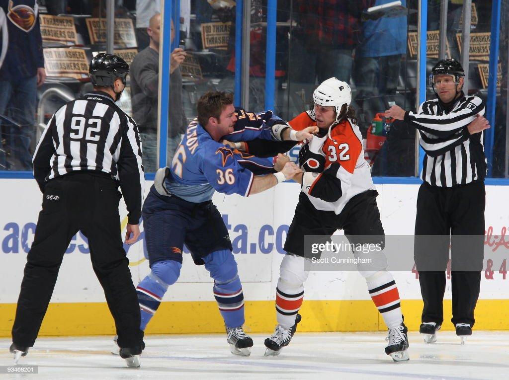 Philadelphia Flyers v Atlanta Thrashers