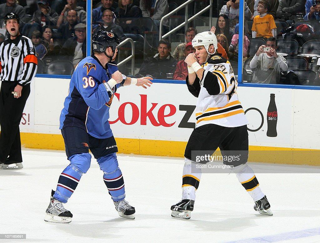 Boston Bruins v Atlanta Thrashers