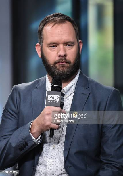 Eric Bourquin attends the Build Series to discuss the miniseries 'The Long Road Home' at Build Studio on November 6 2017 in New York City