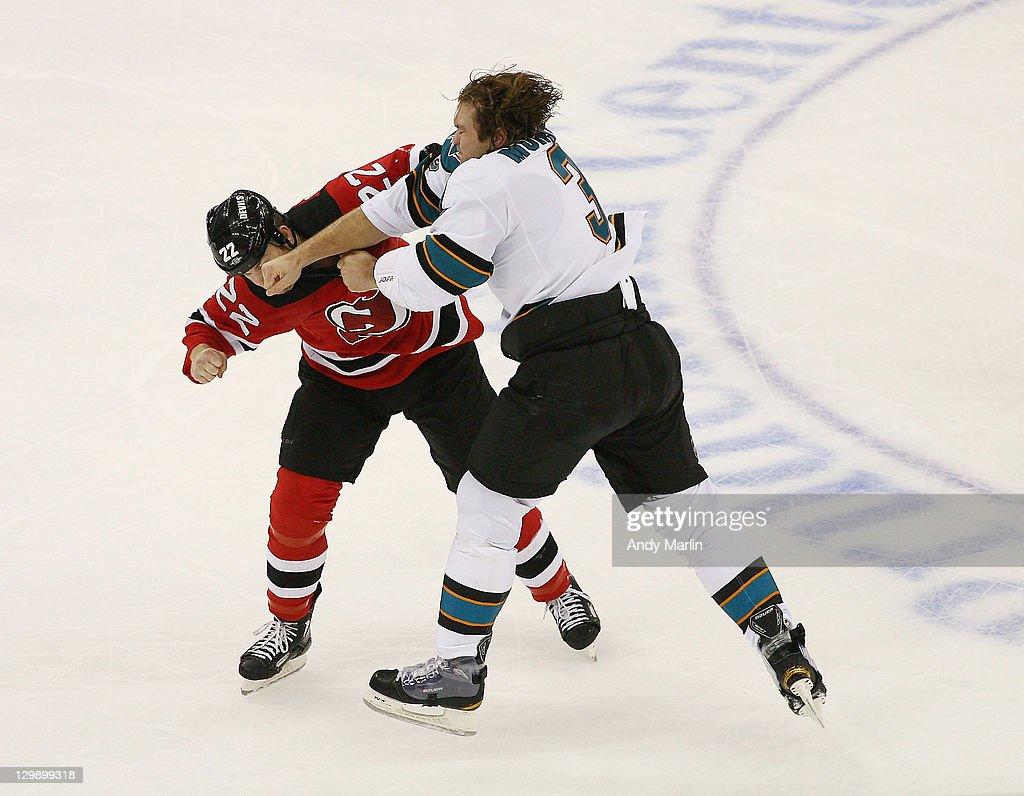 San Jose Sharks v New Jersey Devils