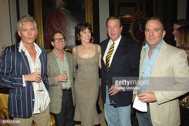 Eric Bowman Peter Schlesinger Carolyne Roehm Paul Wilmot and James Reginato attend Book launch party for Carolyne Roehm's A Passion for Parties at...