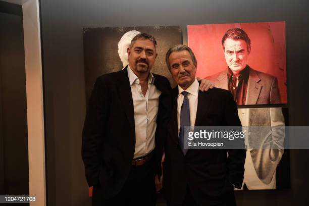 "Eric Braeden and Christian Gudegast at CBS' Young And The Restless"" Celebrates Eric Braeden's 40th Anniversary at CBS TV City on February 07 2020 in..."