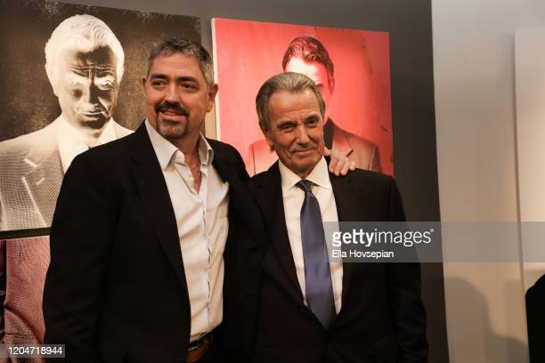 Eric Braeden and Christian Gudegast at the 40th Anniversary Of CBS' Young And The Restless at CBS TV City on February 07 2020 in Los Angeles...