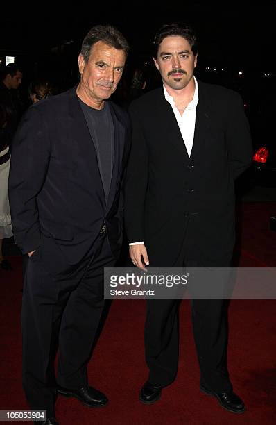 Eric Braeden Son Christian Gudegast during A Man Apart Premiere at Mann's Chinese in Hollywood California United States