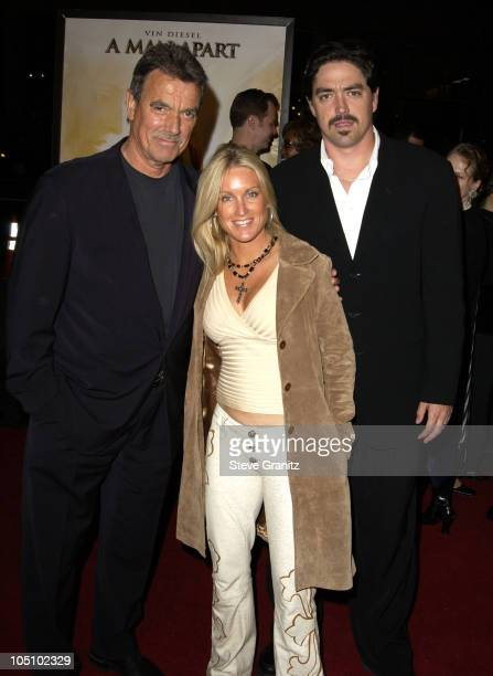 Eric Braeden Wife Son Christian Gudegast during A Man Apart Premiere at Mann's Chinese in Hollywood California United States