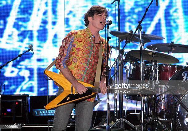 Eric Brazilian of the Hooters during VH1's Decades Rock Live Honors Cyndi Lauper November 11 2005 at Trump Taj Mahal in Atlantic City New Jersey...