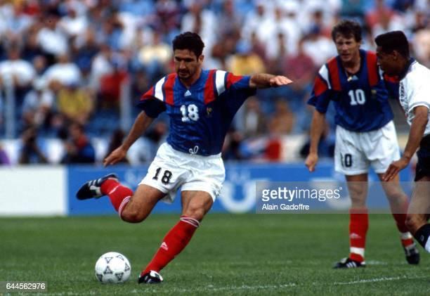 Eric Cantona Angleterre / France Euro 1992 Photo Alain Gadoffre / Icon Sport