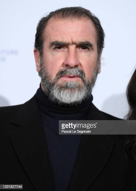 Eric Cantona attends Sidaction Gala Dinner 2020 At Pavillon Cambon on January 23 2020 in Paris France