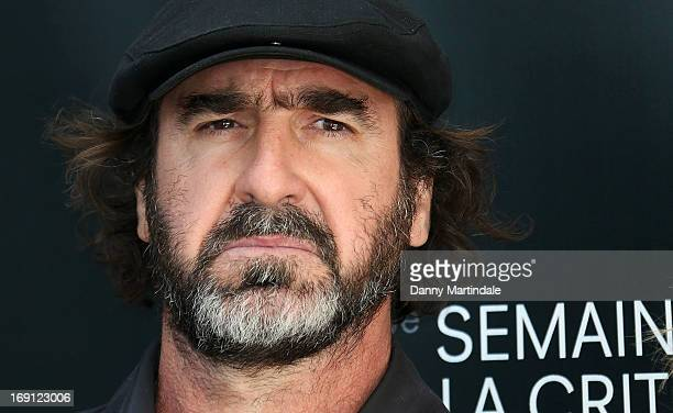 Eric Cantona attends the photocall for 'Les Recontres D'Apres Minuit' at The 66th Annual Cannes Film Festival on May 20 2013 in Cannes France