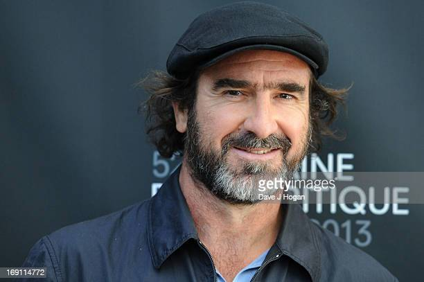 Eric Cantona attends the photocall for 'Les Recontres D'Apres Minuit ' during the 66th Annual Cannes Film Festival at the Nespresso Beach on May 20...