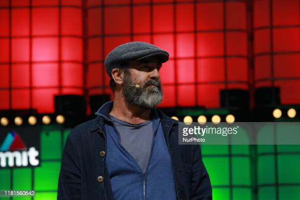 Eric Cantona during day 2 of the Web Summit 2019 in Lisbon Portugal on November 5 2019