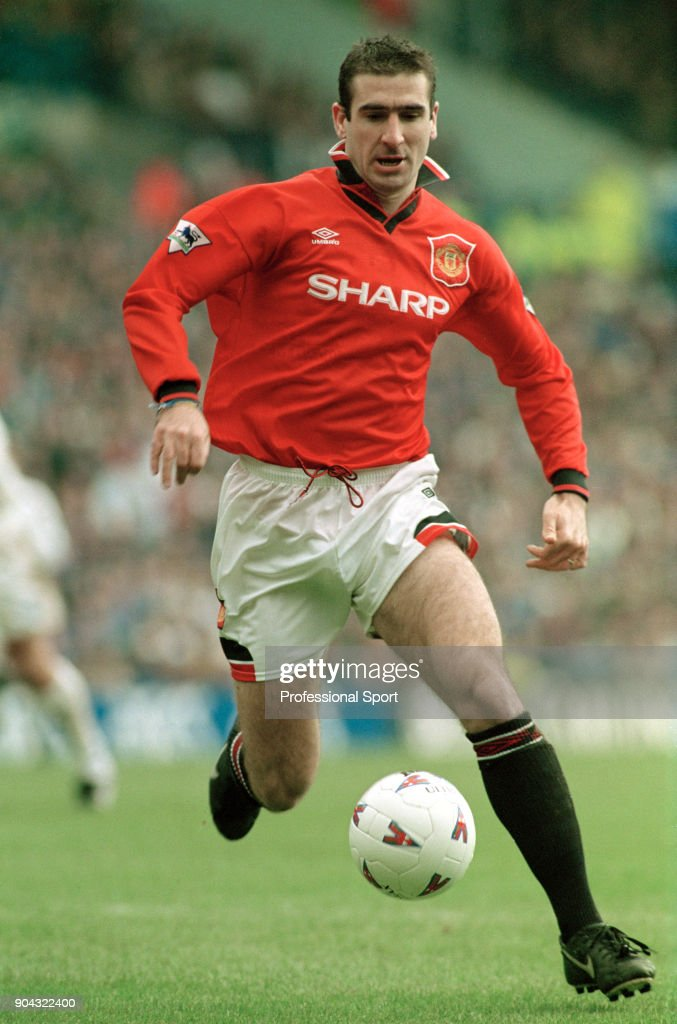 Eric Cantona - Manchester United : Nieuwsfoto's