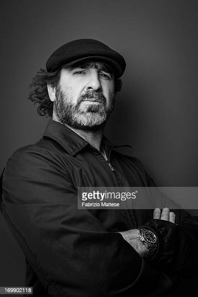 Eric Cantona is photographed for Self Assignment on May 20 2013 in Cannes France