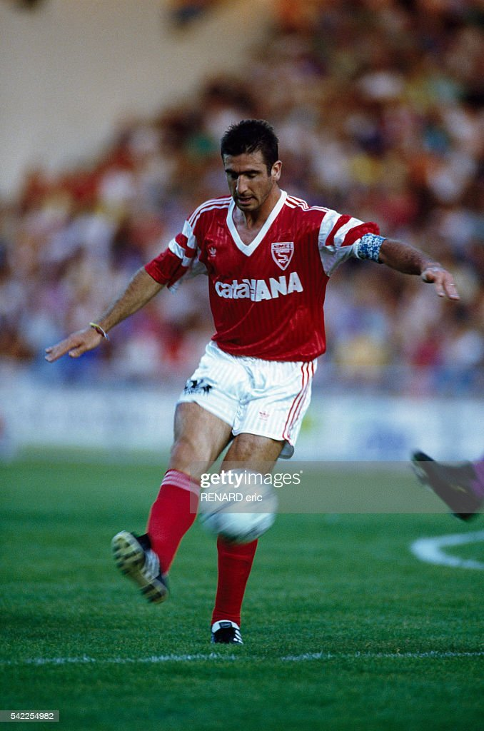 Soccer - Eric Cantona : News Photo