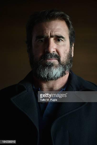 Eric Cantona poses for a portrait prior the Golden Foot at MonteCarlo Bay on October 16 2012 in MonteCarlo Monaco