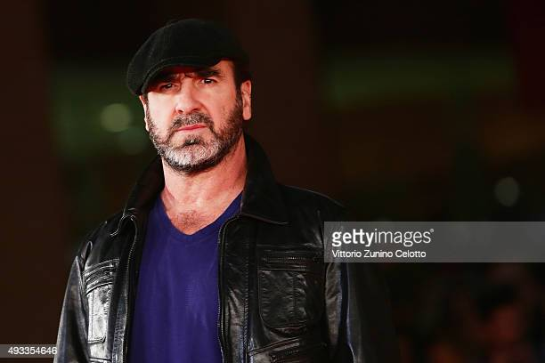 Eric Cantona walks the red carpet for 'Mad Kings' during the 10th Rome Film Fest at Auditorium Parco Della Musica on October 19 2015 in Rome Italy