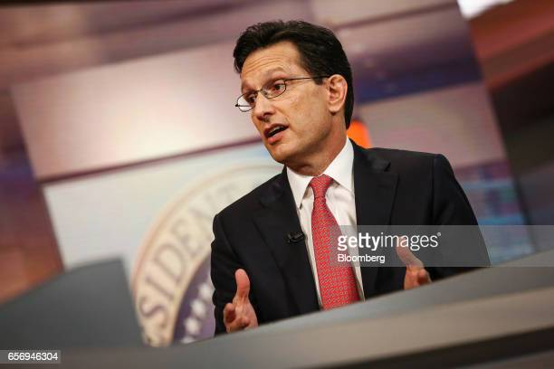 15 Moelis Co Co Vice Chairman Eric Cantor Interview Pictures