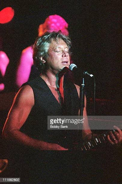 Eric Carmen of Raspberries during Raspberries in Concert July 24 2005 at BB King's Blues Blub Grill in New York New York United States