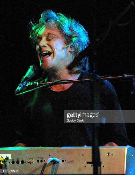 Eric Carmen of Raspberries in concert at the Highline Ballroom on October 13 2007 in New York City
