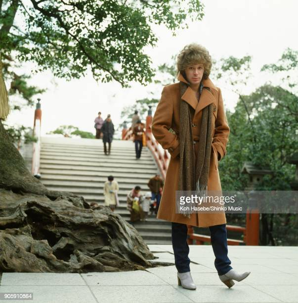 Eric Carmen taken at Sumiyoshi Shrine January 1980 Osaka Japan