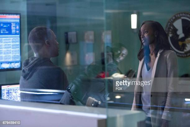 Eric Carter and Anna Diop in the '900 PM1000 PM' episode of 24 LEGACY airing airing Monday April 3 on FOX