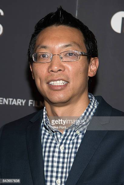 Eric Chien attends the Zero Days New York Premiere at New York Institute of Technology on June 23 2016 in New York City