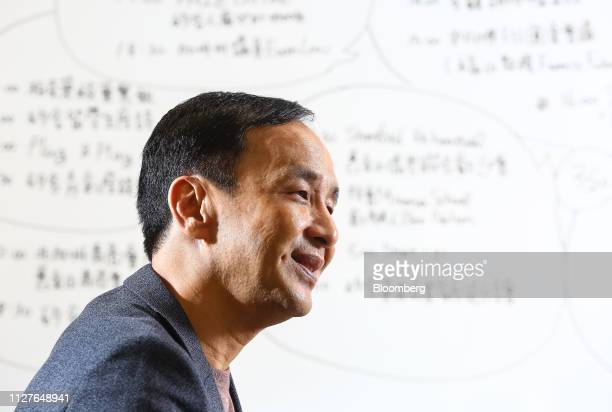 Eric Chu, a presidential candidate from the Kuomintang party, attends an interview in Taipei, Taiwan, on Monday, Feb. 25, 2019. Leading Taiwan...