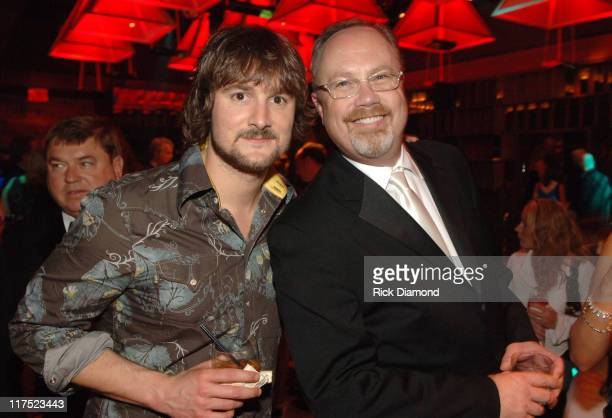 Eric Church and Mike Dungan CEO of Capitol Records Nashville