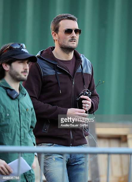 Eric Church is seen on February 10 2014 in Los Angeles California