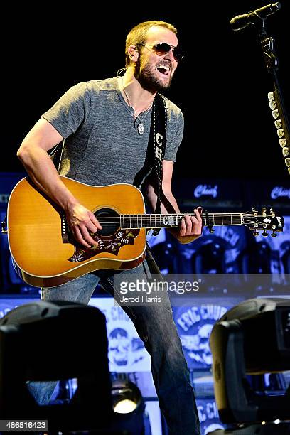 eric Church performs at the 2014 Stagecoach Country Music Festival at The Empire Polo Club on April 25 2014 in Indio California